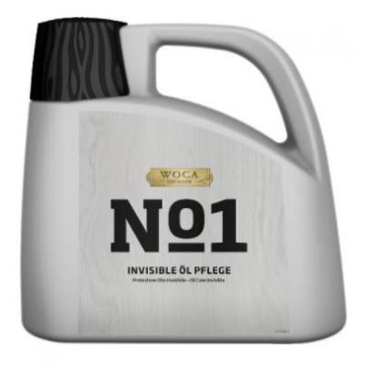 WOCA No1 Invisible Öl Care, zur Ersteinpflege von Eiche Dielen in Rohholzoptik, Kanister mit 2,5 Liter