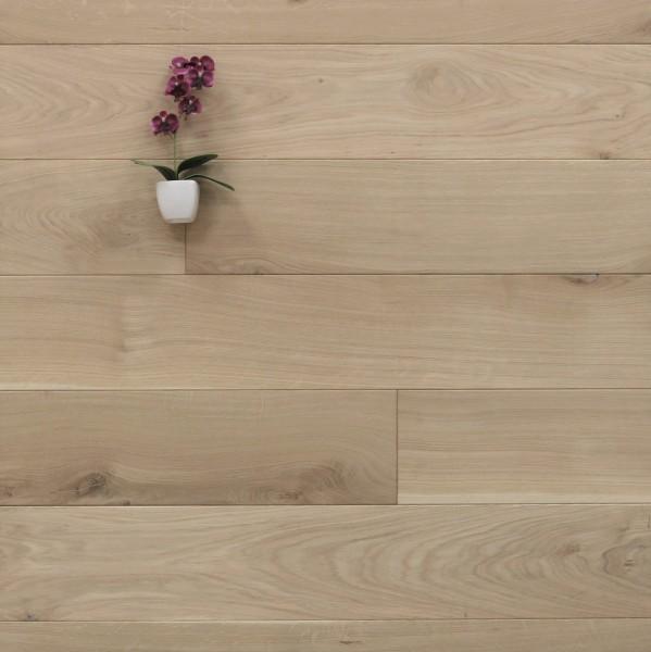 Massivholzdielen Eiche, 20 x 160 mm, Langdielen von 1800 bis 2200 mm, optional in Fixlänge, roh bzw. unbehandelte Oberfläche, Kanten gefast, Nut / Feder Verbindung, Sonderanfertigung nach Kundenwunsch