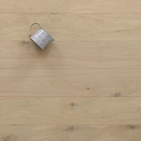 Massivholzdielen Eiche, 21 x 180 / 200 mm, Schlossdielen von 2600 bis 5000 mm, Abmessungen nach Ihren Vorgaben, roh bzw. unbehandelte Oberfläche, Kanten gefast, Nut / Feder Verbindung, Sonderanfertigung nach Kundenwunsch