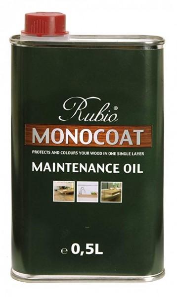 Rubio Monocoat Pflegeöl 5% weiß, zur Auffrischung von nur leicht weiß geölten Böden, Kanister mit 0,5 Liter