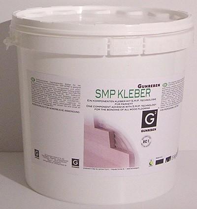 Gunreben 1K SM Polymer Parkettkleber elastisch, für Fußbodenheizung geeignet und verbrauchsfertig